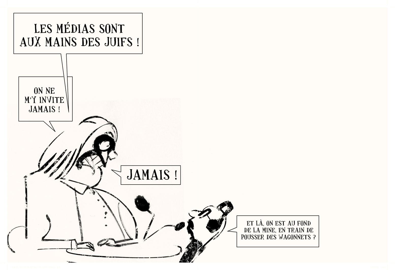 dessin RAPAPORT les JUIFS 9